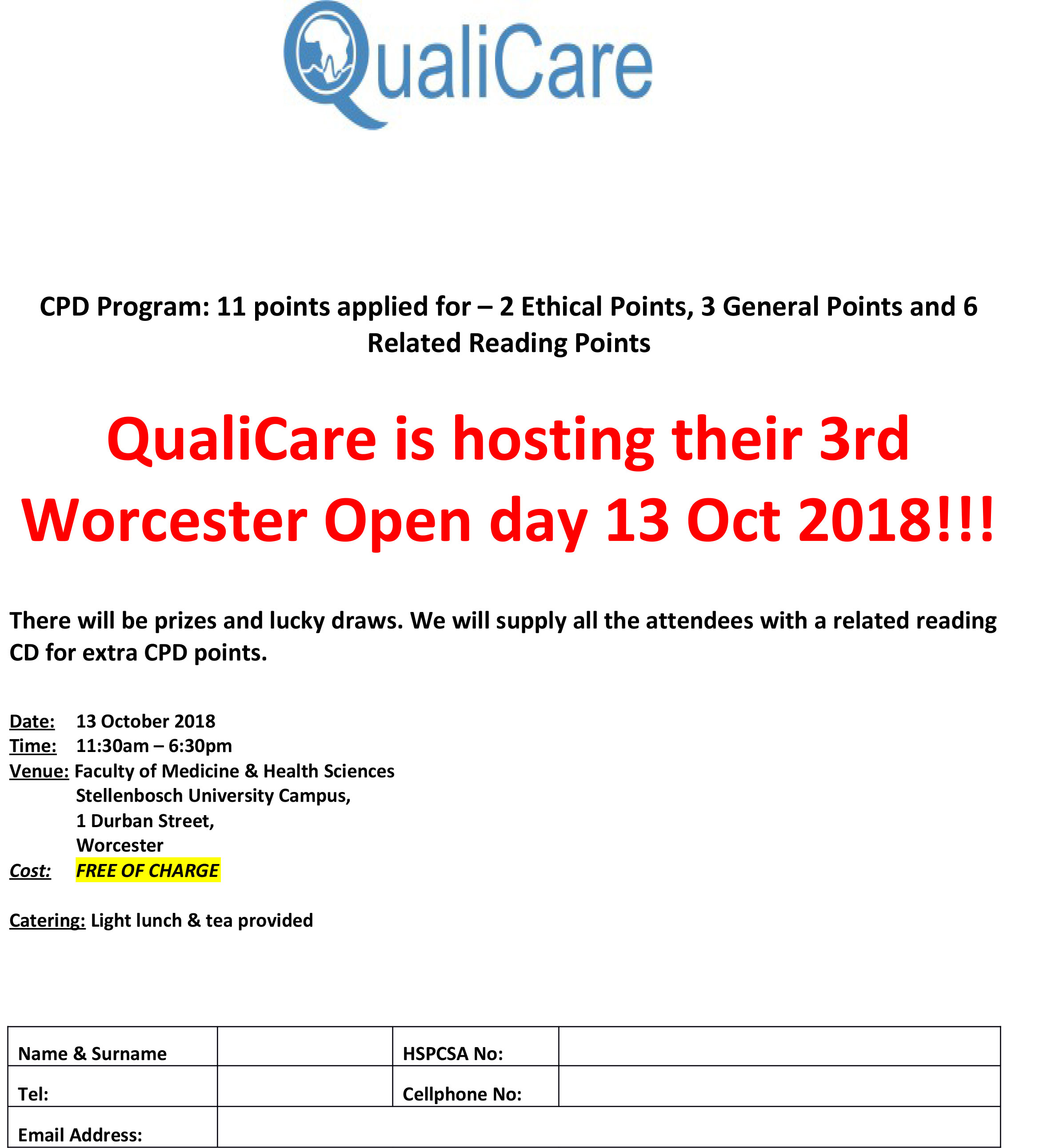 2018 CPC open day